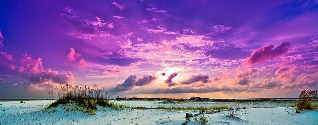 heavenly-purple-clouds-sunset-beach-lavender-skyscape-eszra